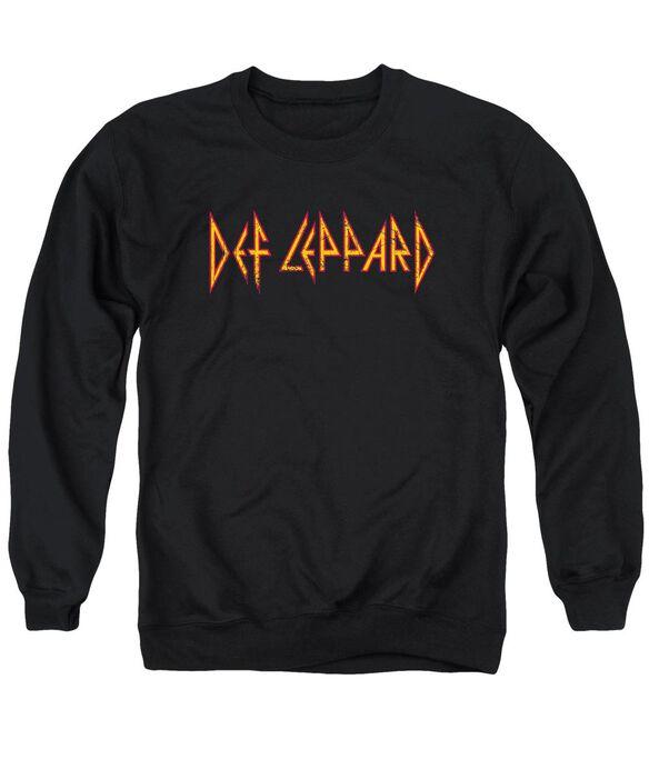 Def Leppard Horizontal Logo Adult Crewneck Sweatshirt
