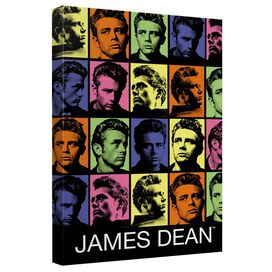 James Dean Color Block Quickpro Artwrap Back Board