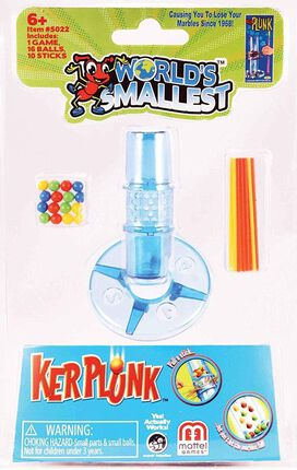 World's Smallest Kerplunk Game