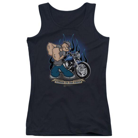 Popeye Biker Popeye Juniors Tank Top
