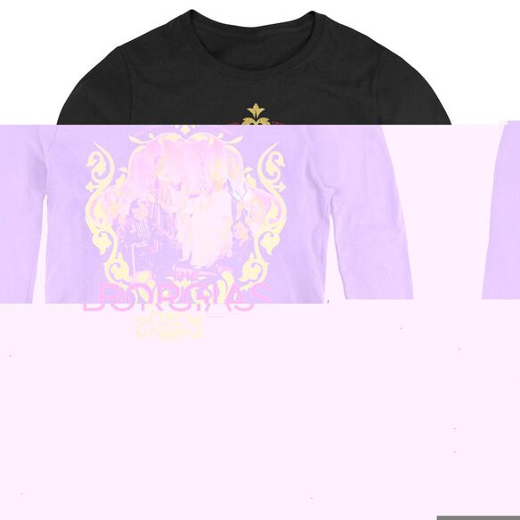 Borgias Family Portrait - Womens Long Sleeve Tee - Black