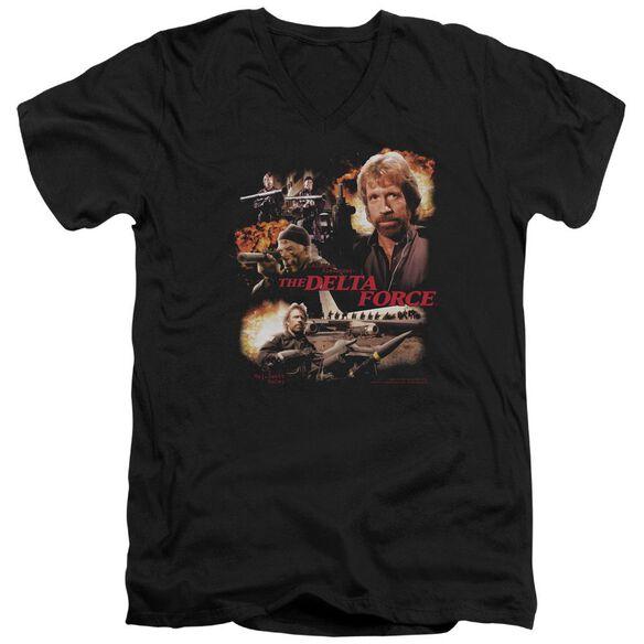 Delta Force Action Pack Short Sleeve Adult V Neck T-Shirt