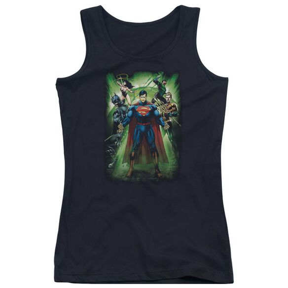 Jla Power Burst Juniors Tank Top