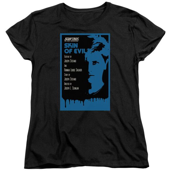 Star Trek Tng Season 1 Episode 23 Short Sleeve Womens Tee T-Shirt
