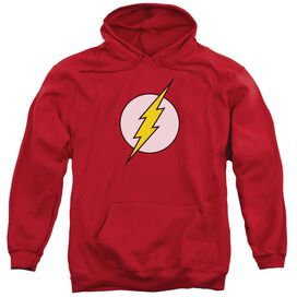 Dc Flash Logo Adult Pull Over Hoodie
