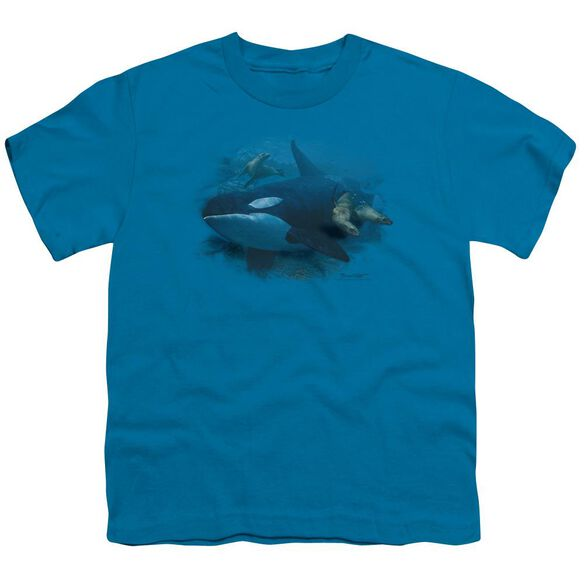 Wildlife Orchestrated Maneuver Short Sleeve Youth T-Shirt