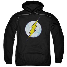 Dco Flash Neon Distress Logo Adult Pull Over Hoodie Black