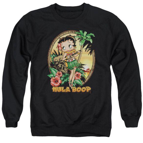 Betty Boop Hula Boop Ii Adult Crewneck Sweatshirt