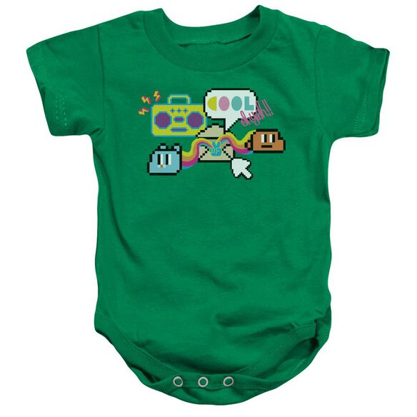 Amazing World Of Gumball Cool Oh Yeah Infant Snapsuit Kelly Green