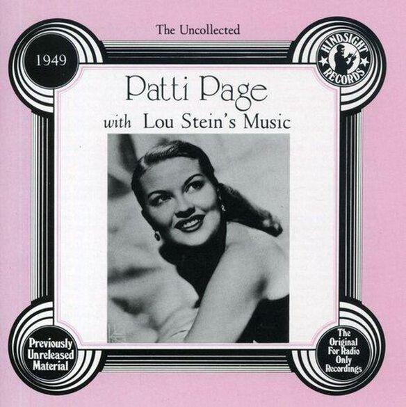 Patti Page - Lou Stein's Music