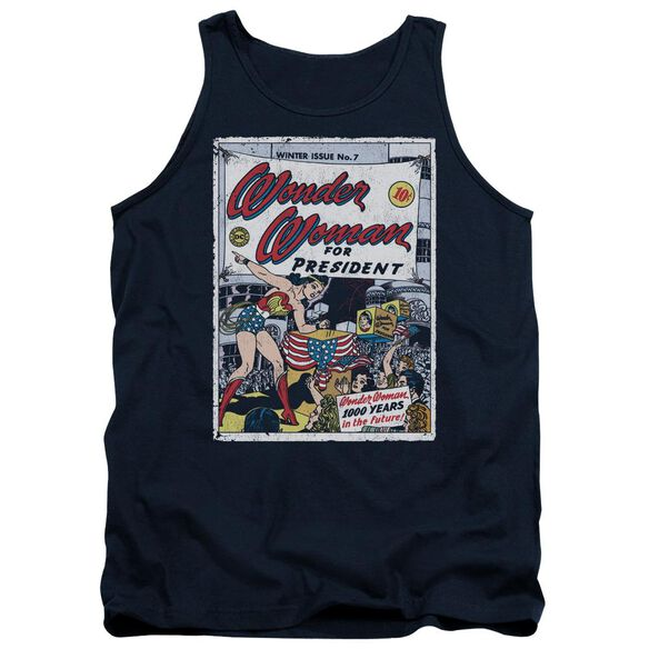 Dc Ww For President Adult Tank