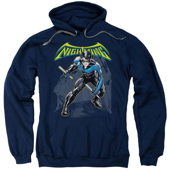 Batman Nightwing Adult Pull Over Hoodie