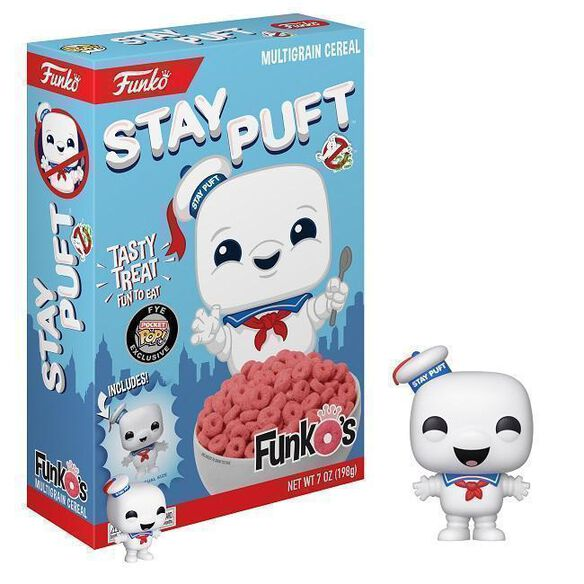 Ghostbusters - Stay Puft Funko's Cereal