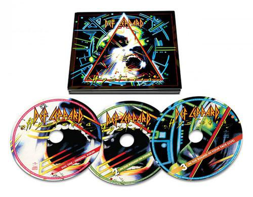 hysteria by def leppard new on cd fye. Black Bedroom Furniture Sets. Home Design Ideas