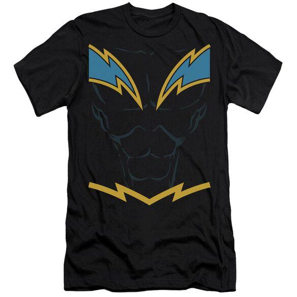Jla Lightning Short Sleeve Adult T-Shirt