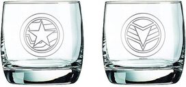 Marvel Collectible Whiskey Glasses - Falcon & Winter Soldier