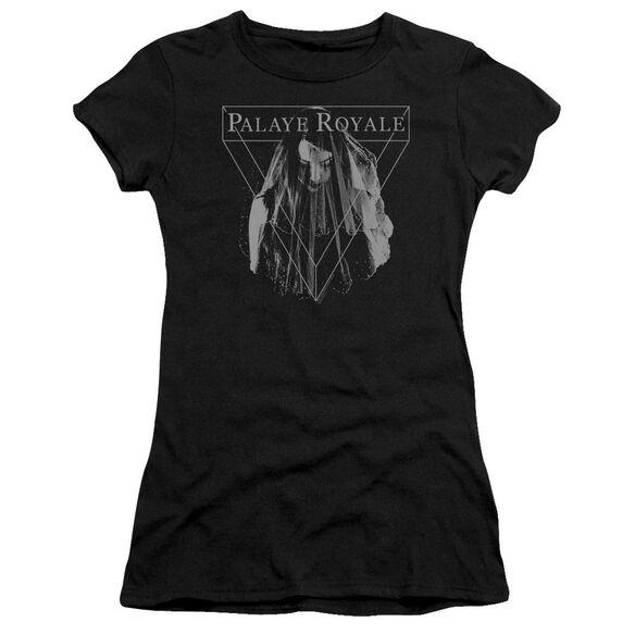 Palaye Royale Veil Hbo Short Sleeve Junior Sheer T-Shirt