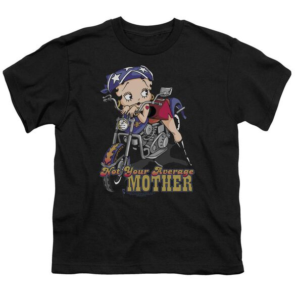 Betty Boop Not Your Average Mother Short Sleeve Youth T-Shirt