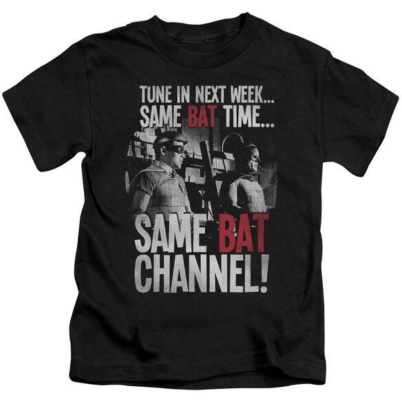 Batman Classic Tv Bat Channel Short Sleeve Juvenile T-Shirt