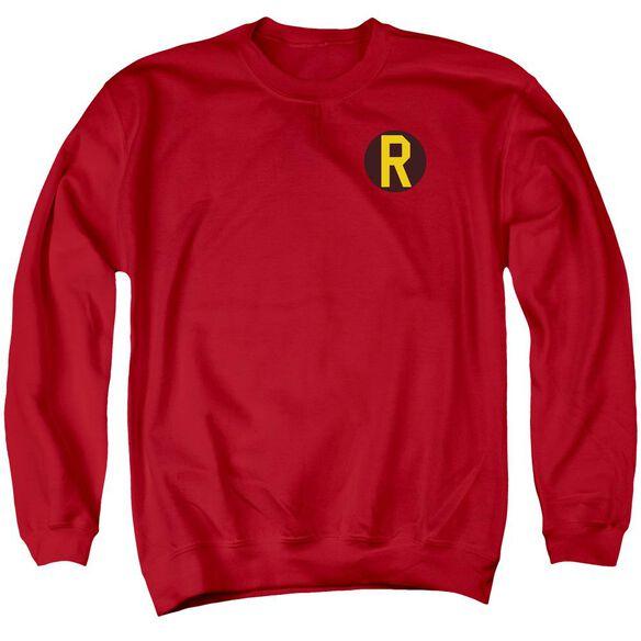 Dc Robin Logo Adult Crewneck Sweatshirt