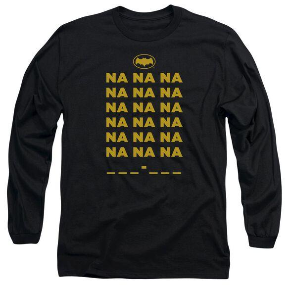 Batman Classic Tv Na Na Na Long Sleeve Adult T-Shirt