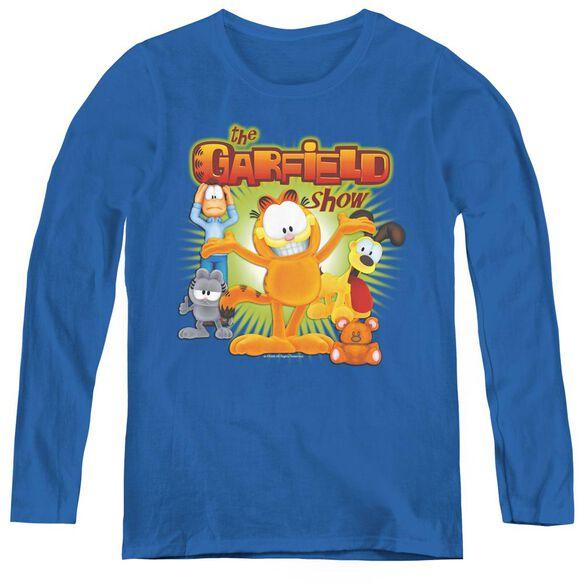 Garfield The Garfield Show-womens Long Sleeve
