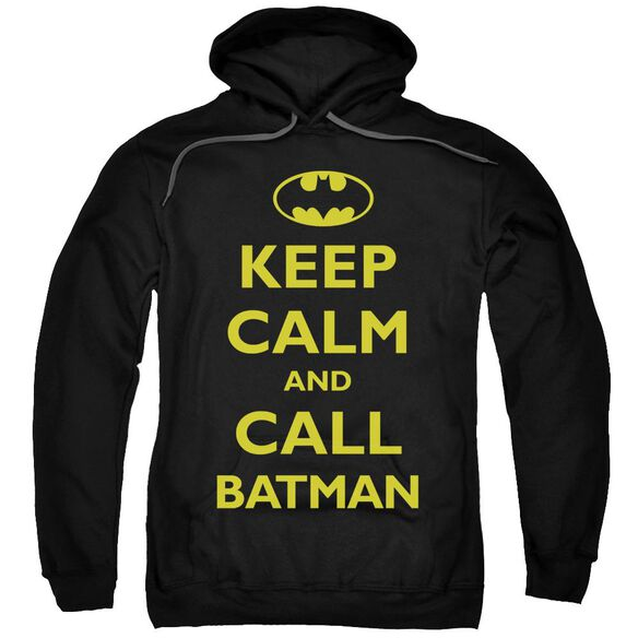Batman Call Batman Adult Pull Over Hoodie