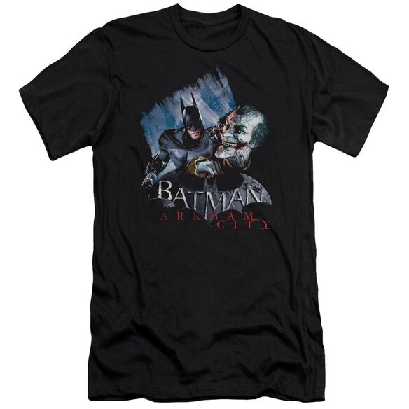 Arkham City Joke's On You! Short Sleeve Adult T-Shirt