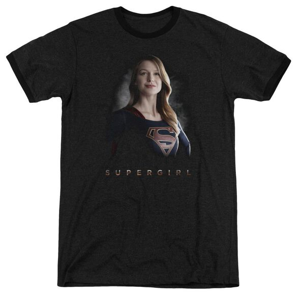 Supergirl Stand Tall Adult Heather Ringer