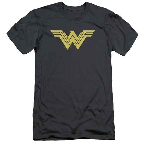 Batman V Superman Clean Line Logo Short Sleeve Adult T-Shirt