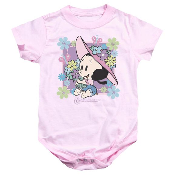 Popeye Olive's Garden Infant Snapsuit Pink Md