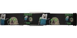 Adventure Time Zombie Time Seatbelt Mesh Belt