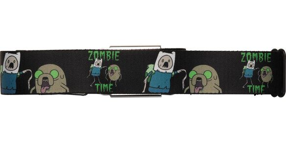 Adventure Time Zombie Time Seatbelt Mesh Belt