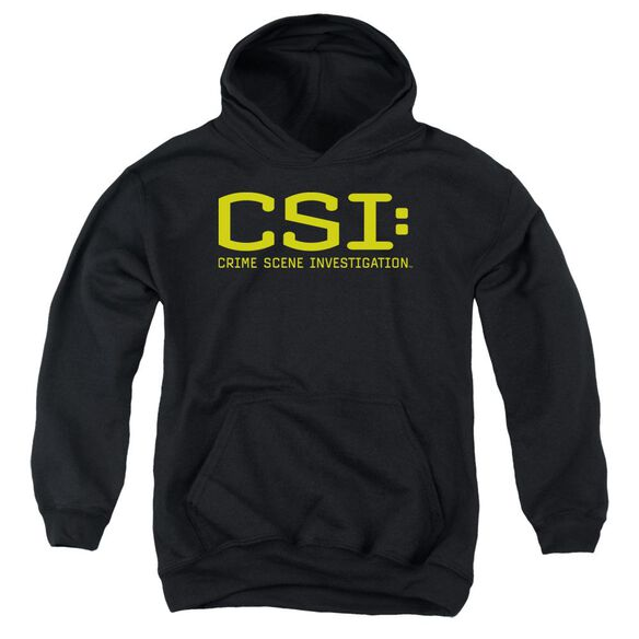 Csi Logo Youth Pull Over Hoodie