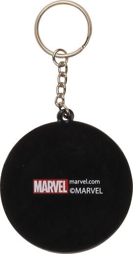 Captain America Shield Logo Keychain