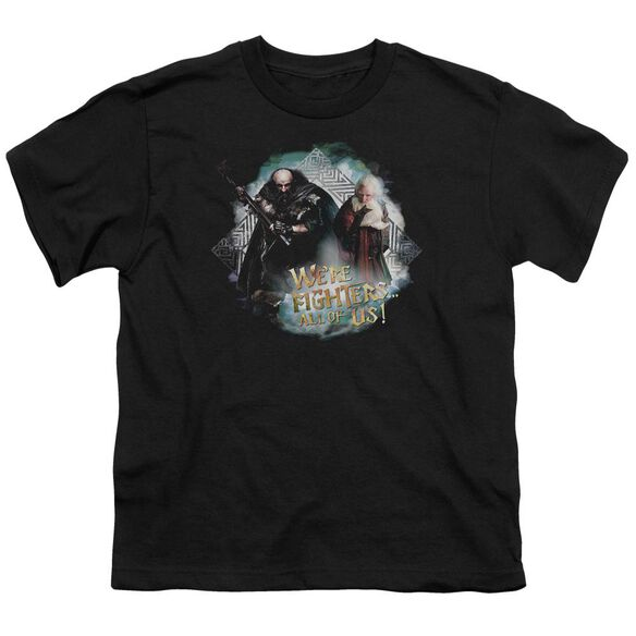 The Hobbit We're Fighers Short Sleeve Youth T-Shirt