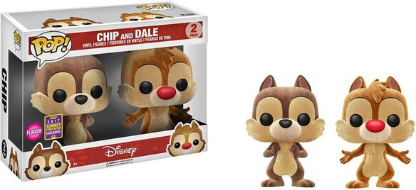 Exclusive SDCC 2017 Flocked Chip & Dale [2 Pack]