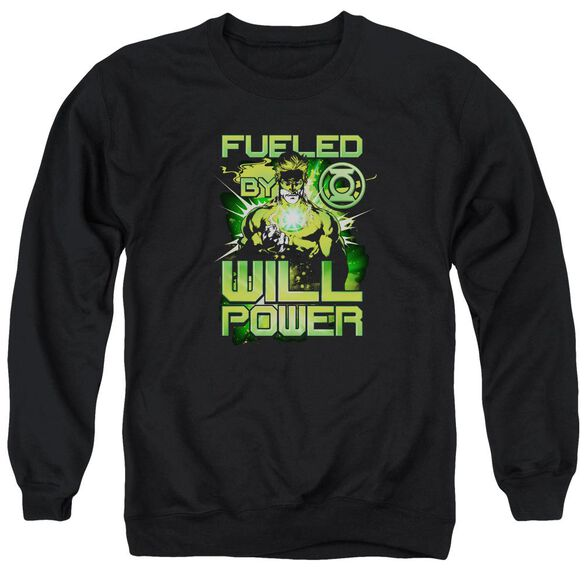 Green Lantern Fueled Adult Crewneck Sweatshirt
