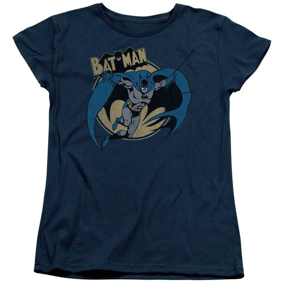 Batman Through The Night Short Sleeve Womens Tee T-Shirt