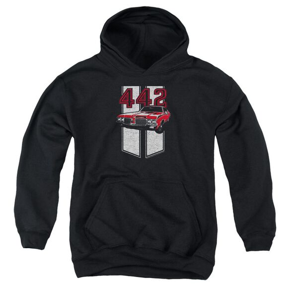 Oldsmobile 442 Youth Pull Over Hoodie