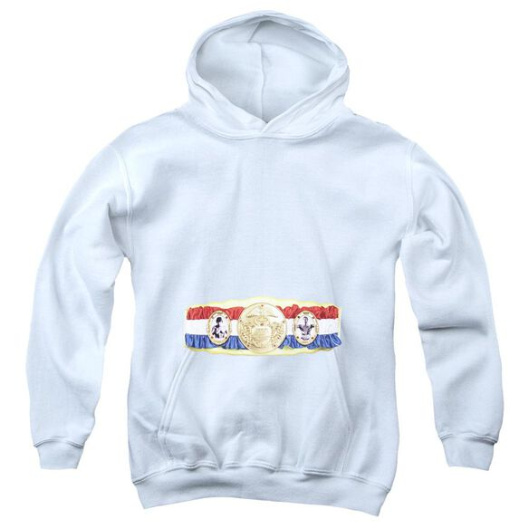 Rocky Championship Belt(Bottom Front) Youth Pull Over Hoodie