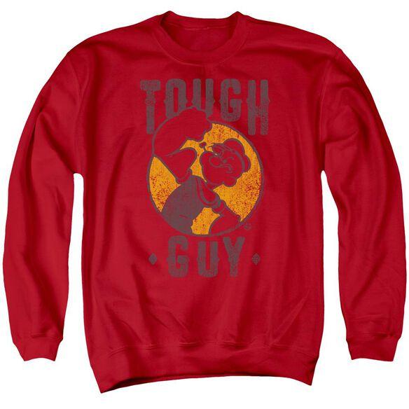Popeye Tough Guy Adult Crewneck Sweatshirt