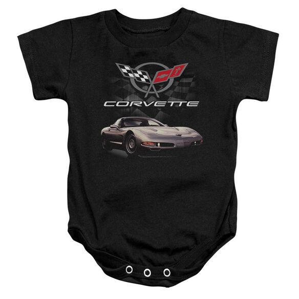 Chevrolet Checkered Past Infant Snapsuit Black