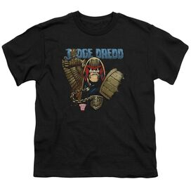 Judge Dredd Smile Scumbag Short Sleeve Youth T-Shirt