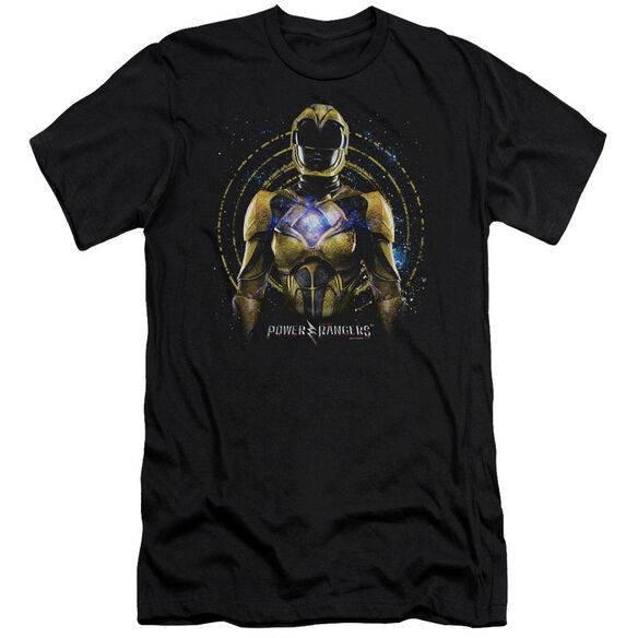 Power Rangers Yellow Ranger Short Sleeve Adult T-Shirt
