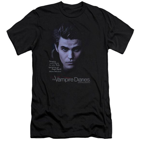 Vampire Diaries Sense Your Body Hbo Short Sleeve Adult T-Shirt