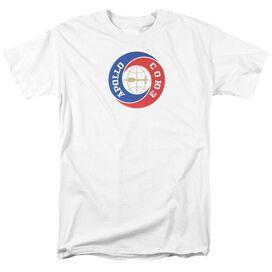 Nasa Apollo Soyuz Short Sleeve Adult White T-Shirt