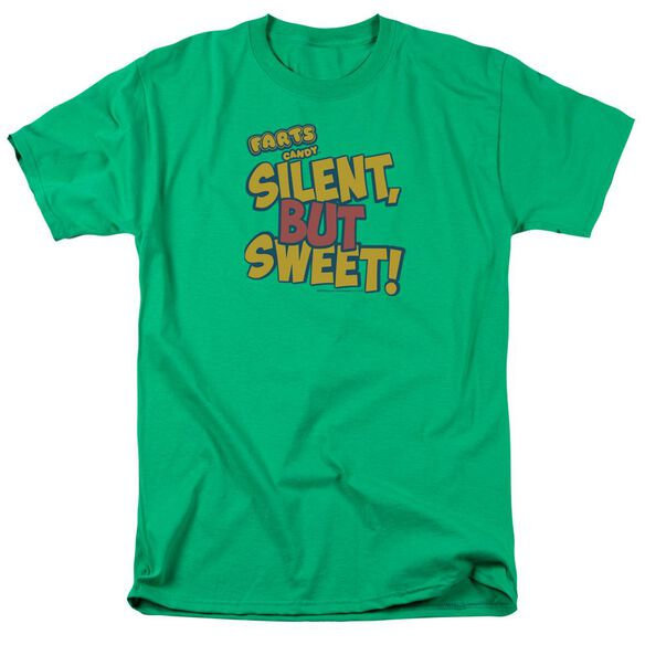 Farts Candy Silent But Sweet Short Sleeve Adult Kelly T-Shirt
