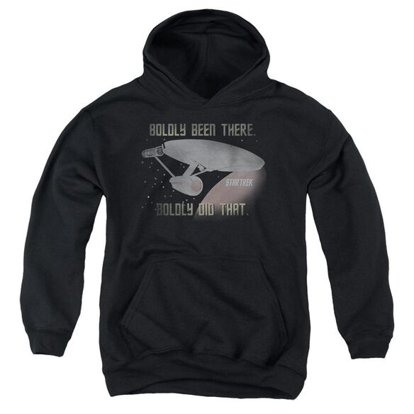 Star Trek Boldly Did That Youth Pull Over Hoodie
