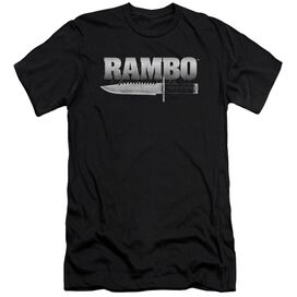 Rambo:First Blood Knife Short Sleeve Adult T-Shirt